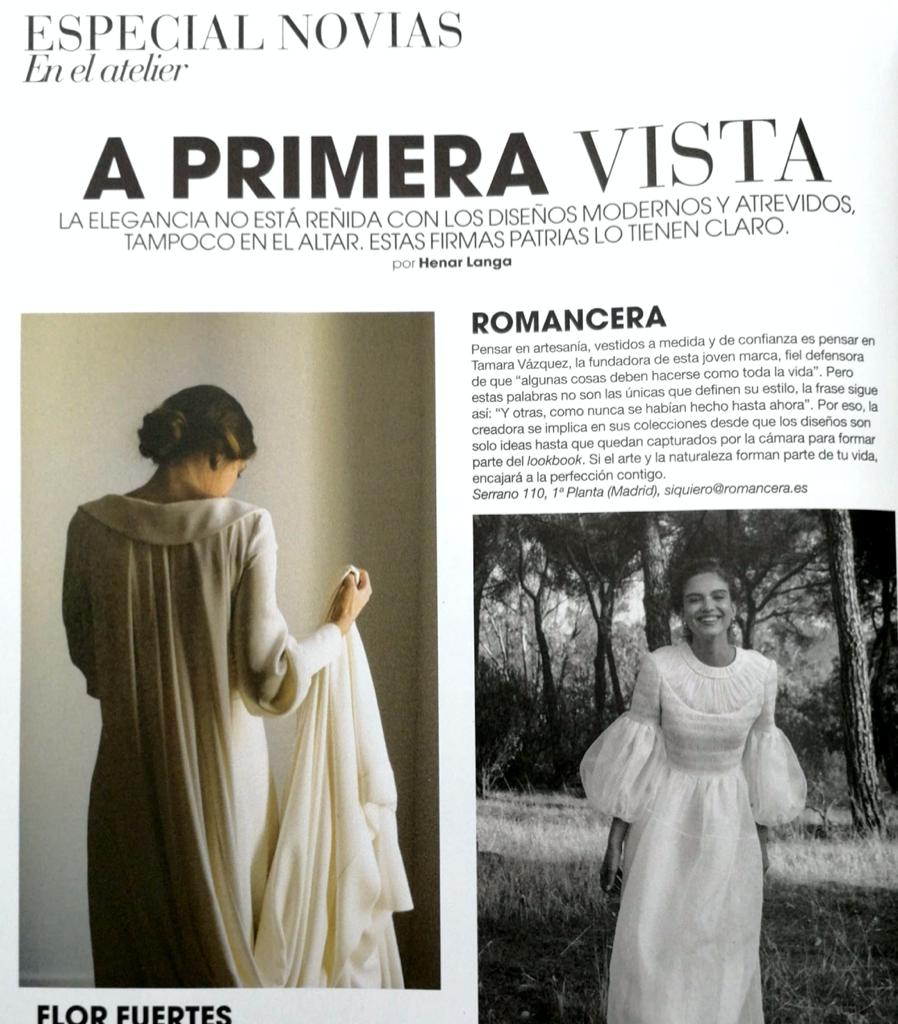 A primera vista - vestidos de novia