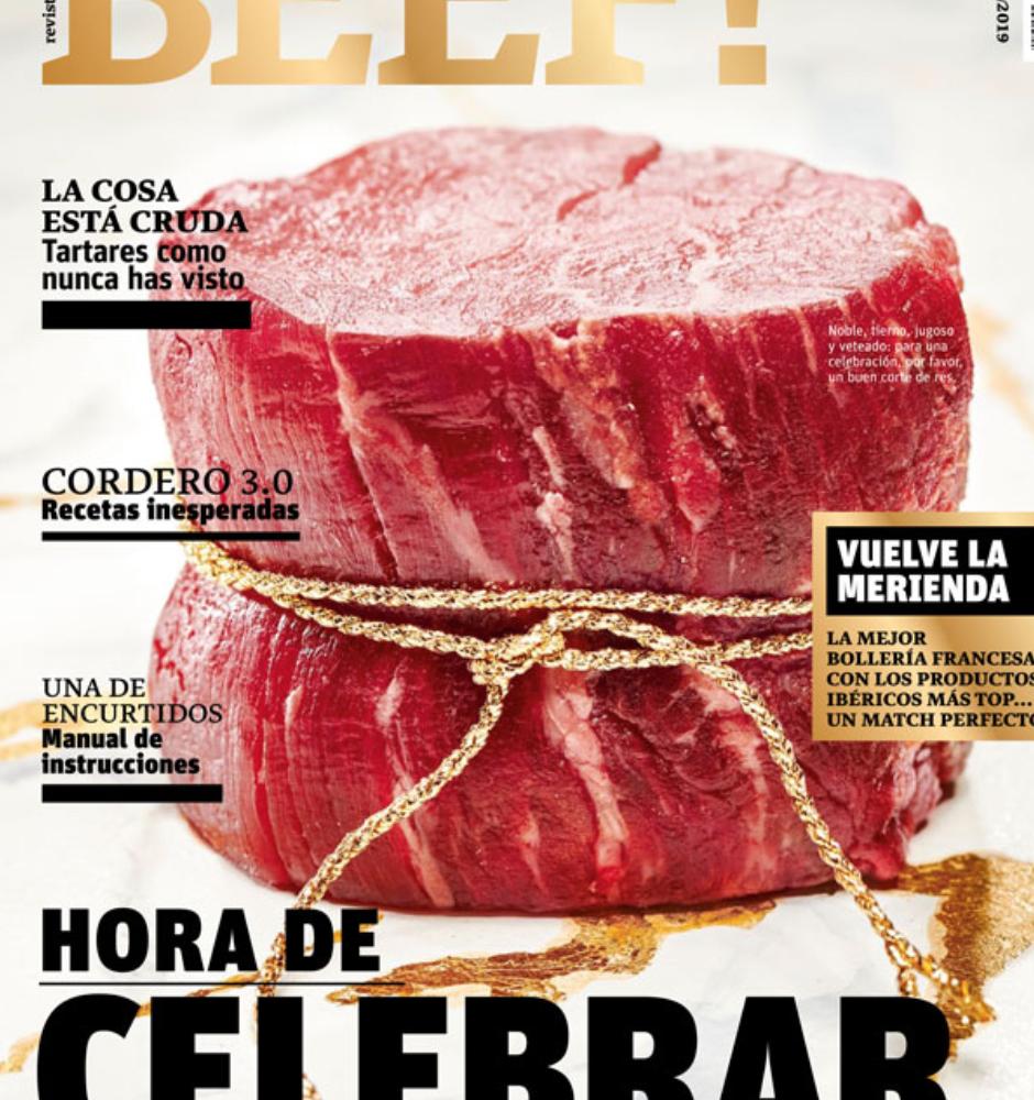 Portada de la revista BEEF! 21 España